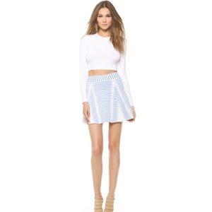NWT Torn by Ronny Kobo Anabelle Mini Skirt